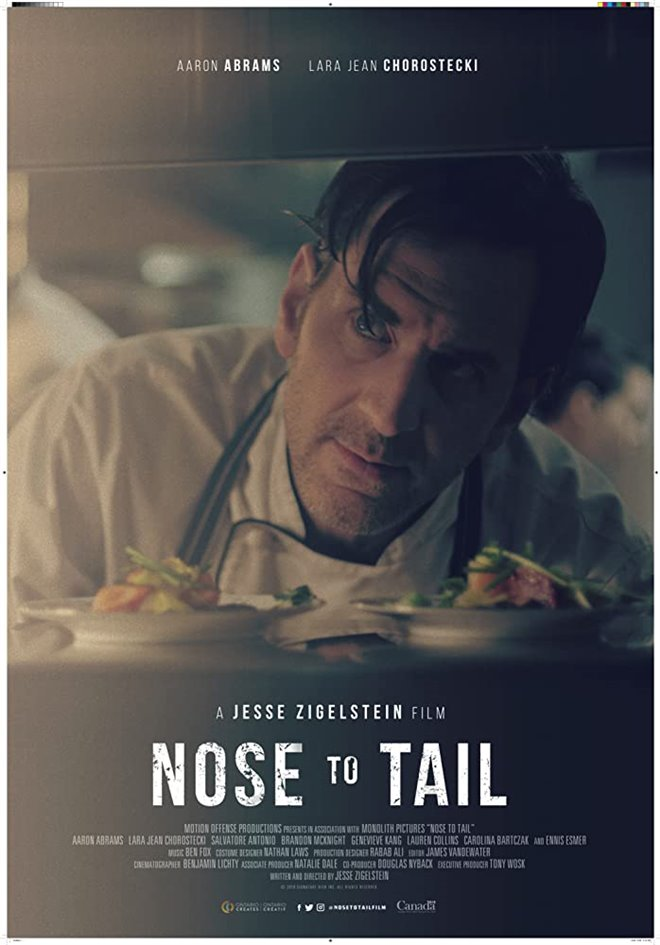 Nose to Tail Large Poster