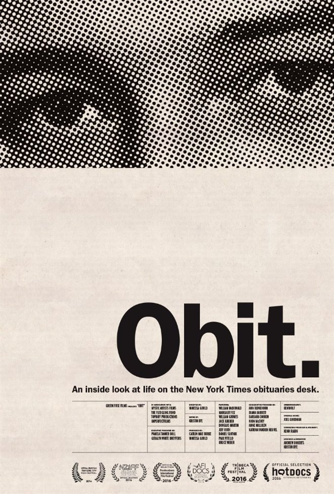Obit Large Poster