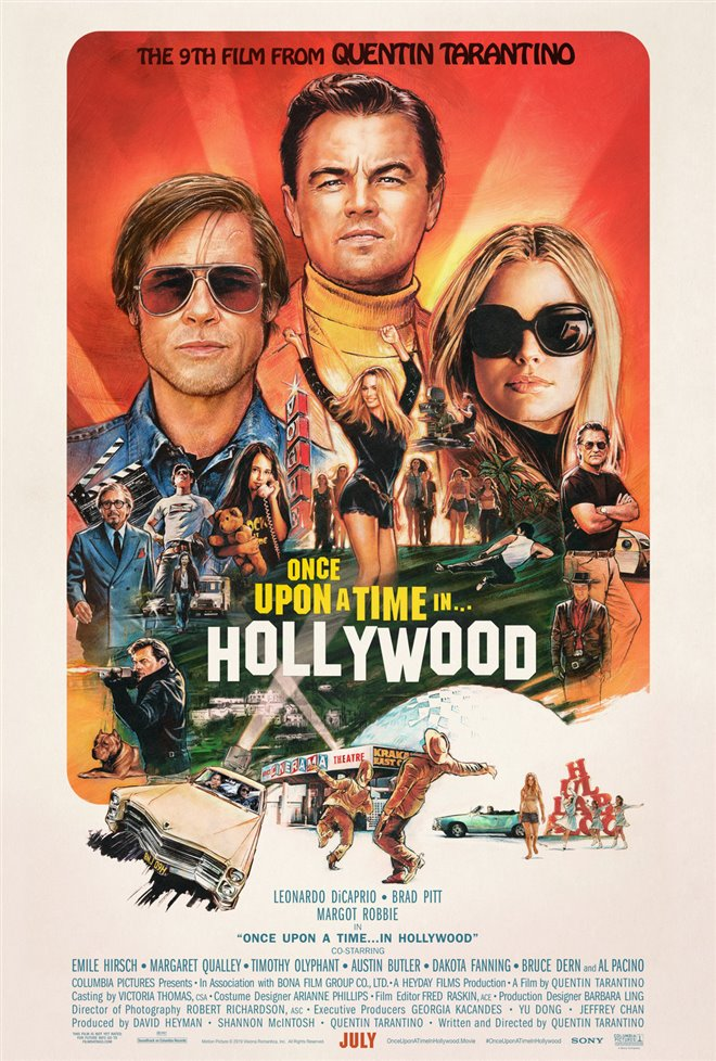 Once Upon a Time in Hollywood - Extended Cut Large Poster