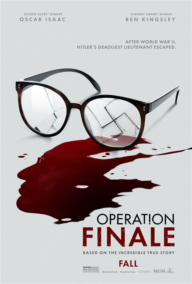 Operation Finale Large Poster