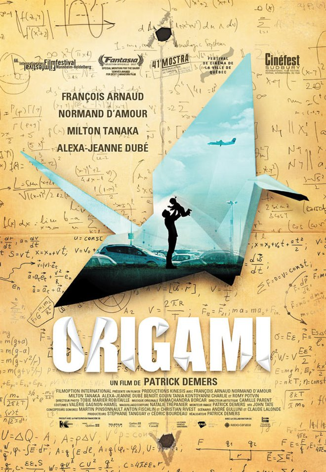 Origami Large Poster
