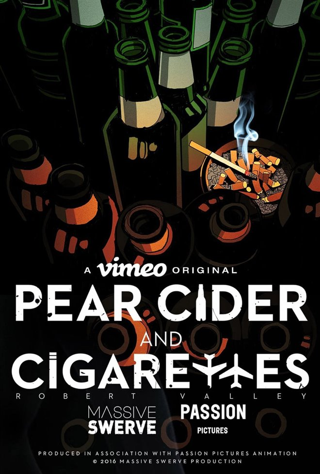 Pear Cider and Cigarettes Large Poster