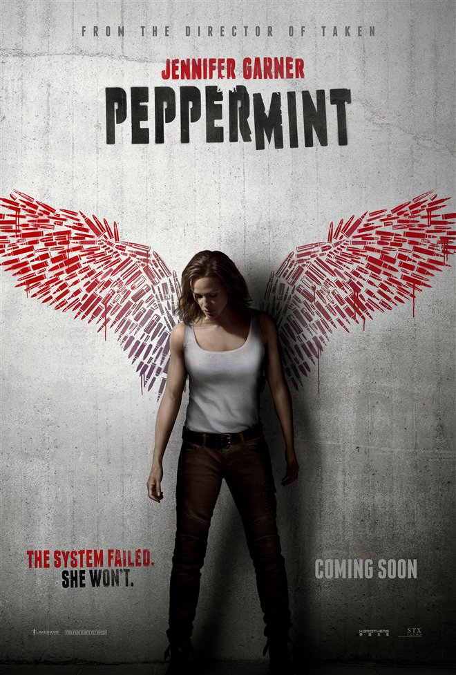Peppermint Large Poster