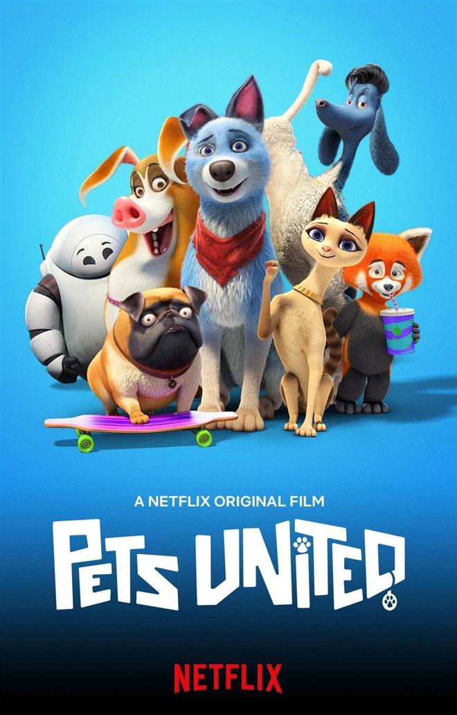 Pets United (Netflix) Large Poster