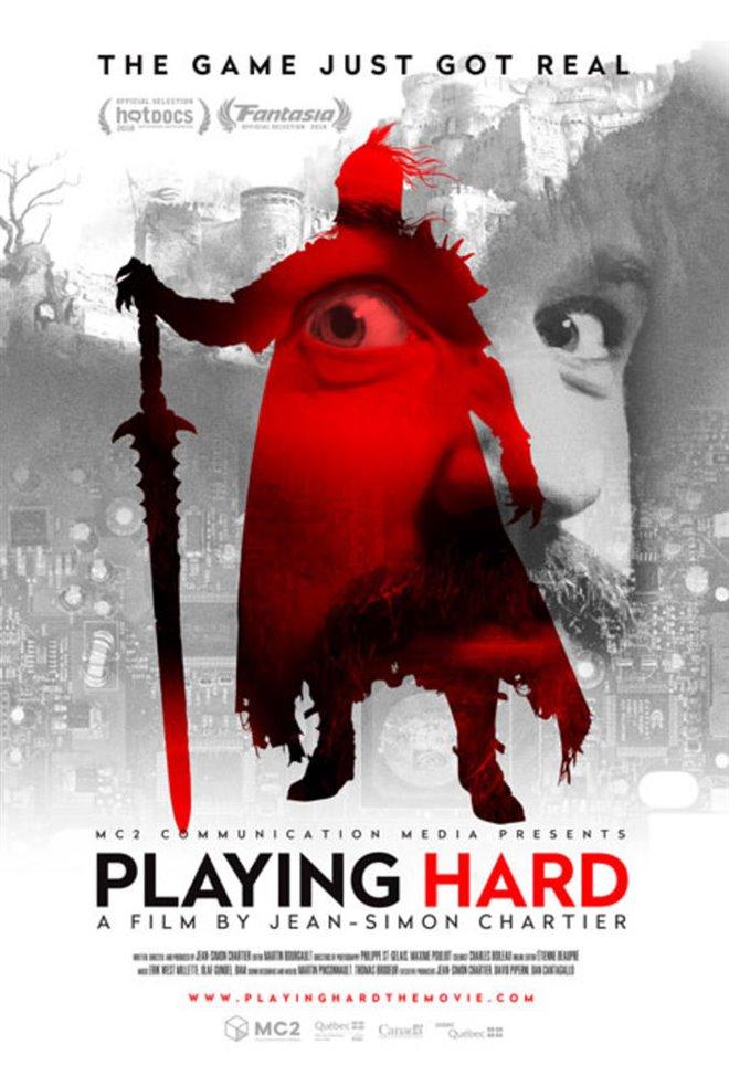 Playing Hard Large Poster
