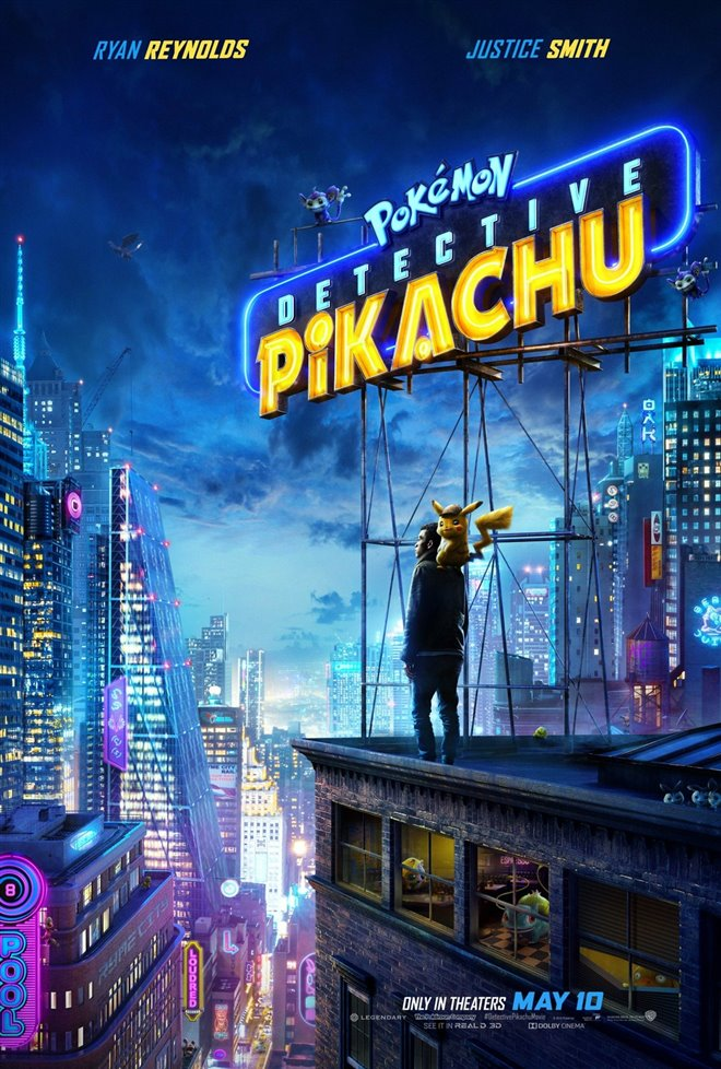 Image result for detective pikachu movie poster free use
