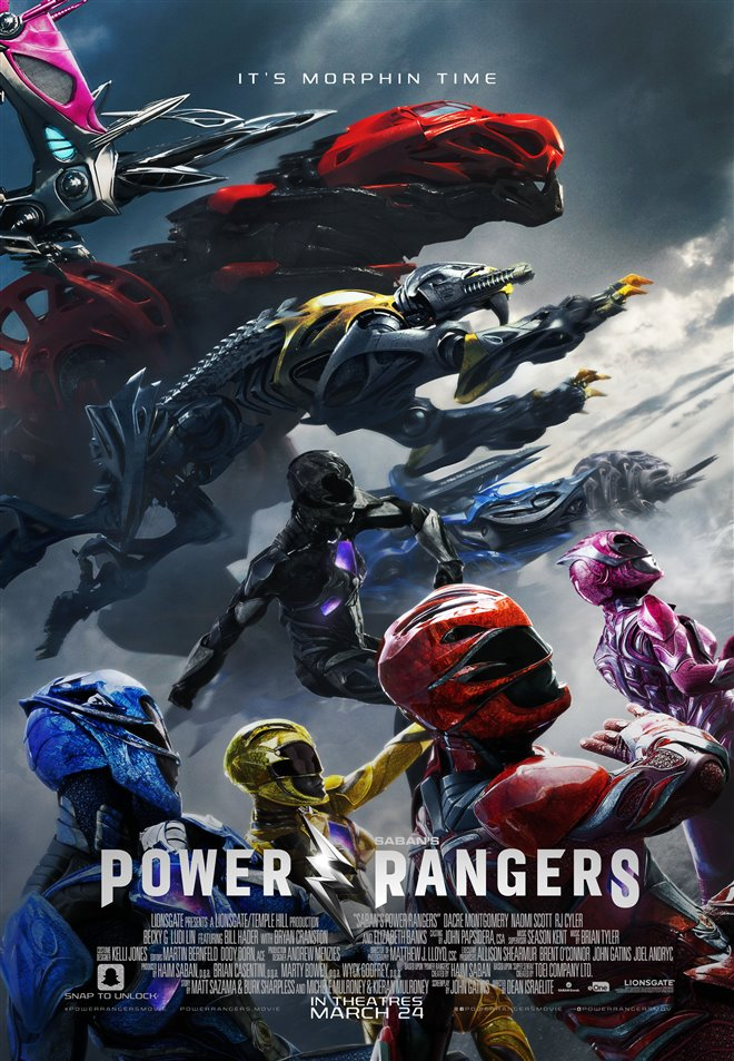 Power Rangers Large Poster