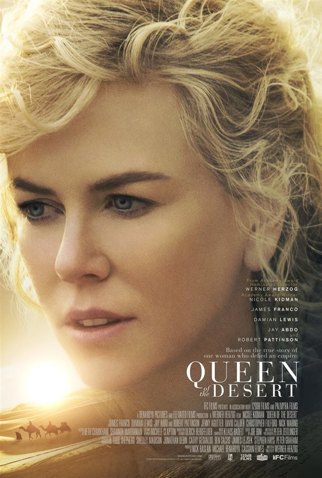 Queen of the Desert Large Poster