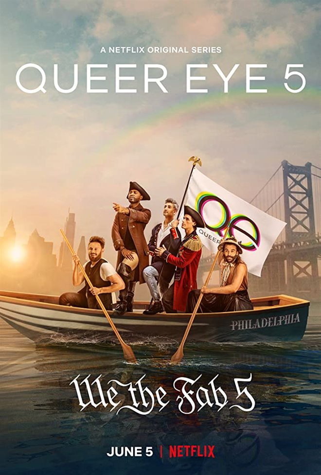 Queer Eye (Netflix) Large Poster