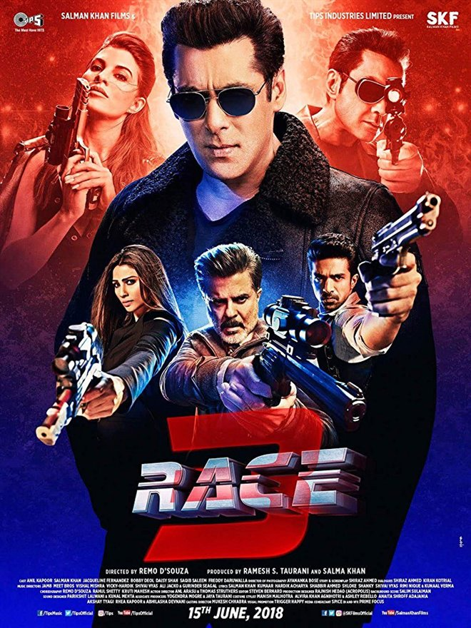 Race 3 Large Poster