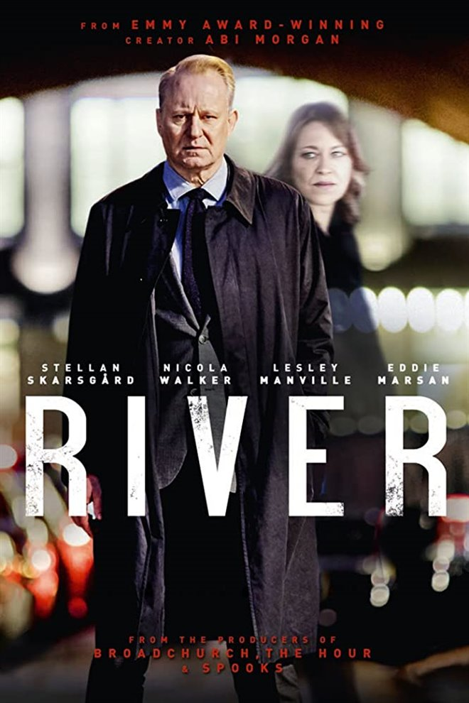 River (BritBox) Large Poster