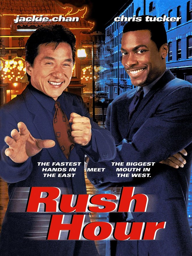 Rush Hour Large Poster