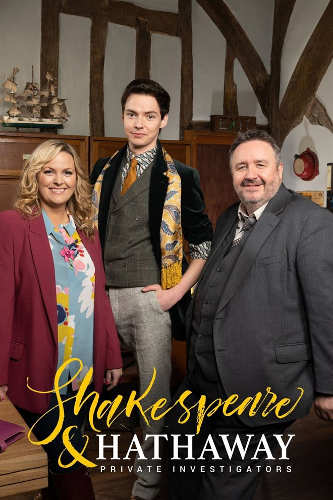 Shakespeare & Hathaway: Private Investigators (BritBox/PBS) Large Poster