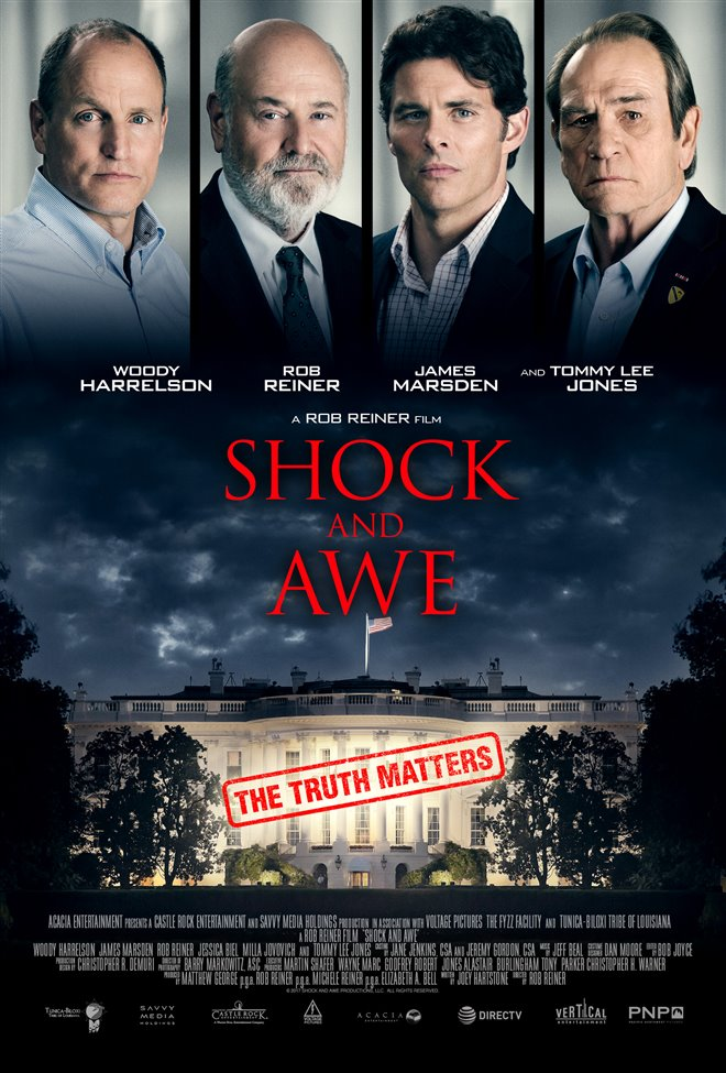 Shock and Awe Large Poster