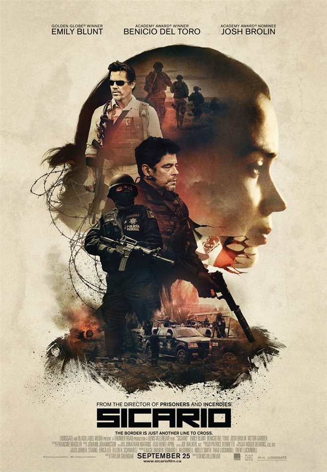 Sicario Large Poster