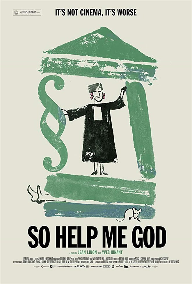 So Help Me God Large Poster