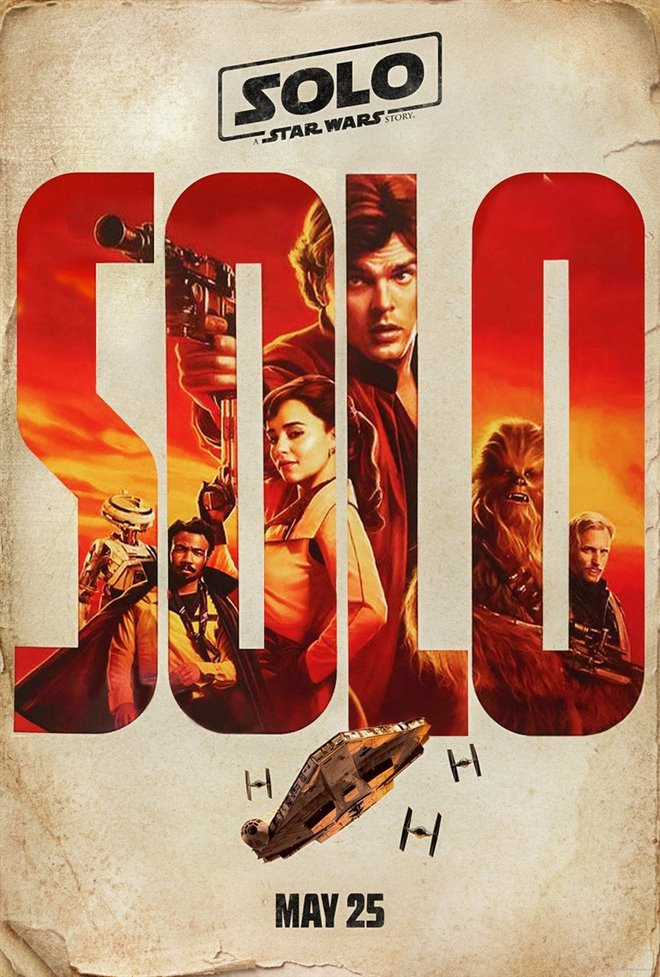 Solo: A Star Wars Story Large Poster