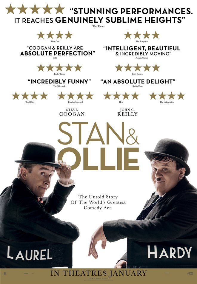 Stan & Ollie Large Poster