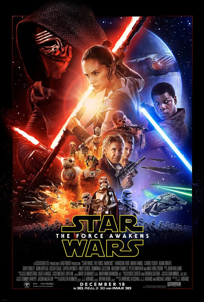 Star Wars: The Force Awakens Large Poster