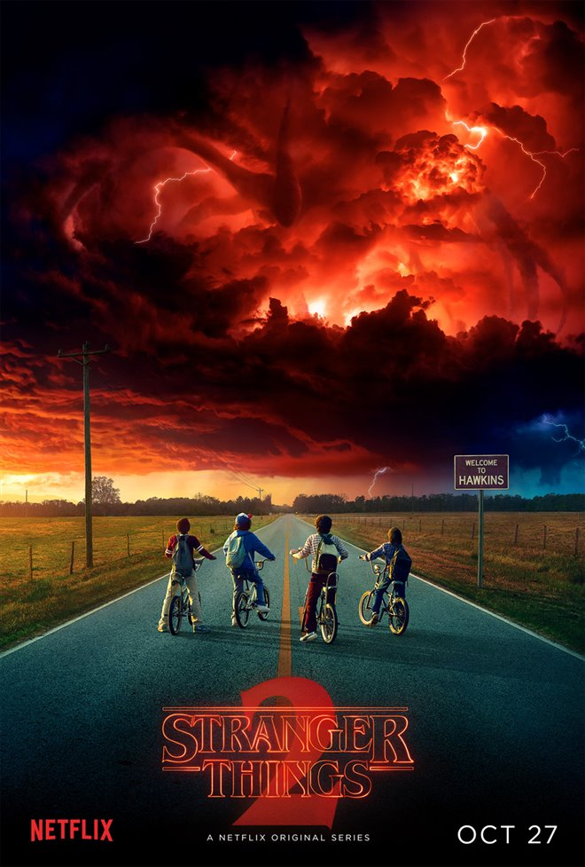 Stranger Things (Netflix) Large Poster
