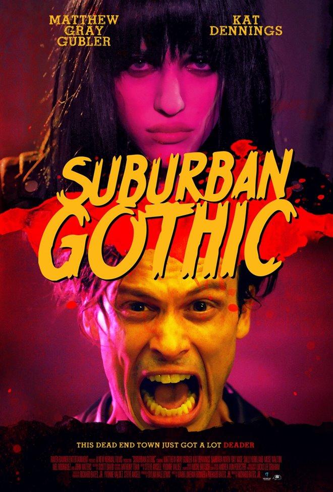 Suburban Gothic Large Poster