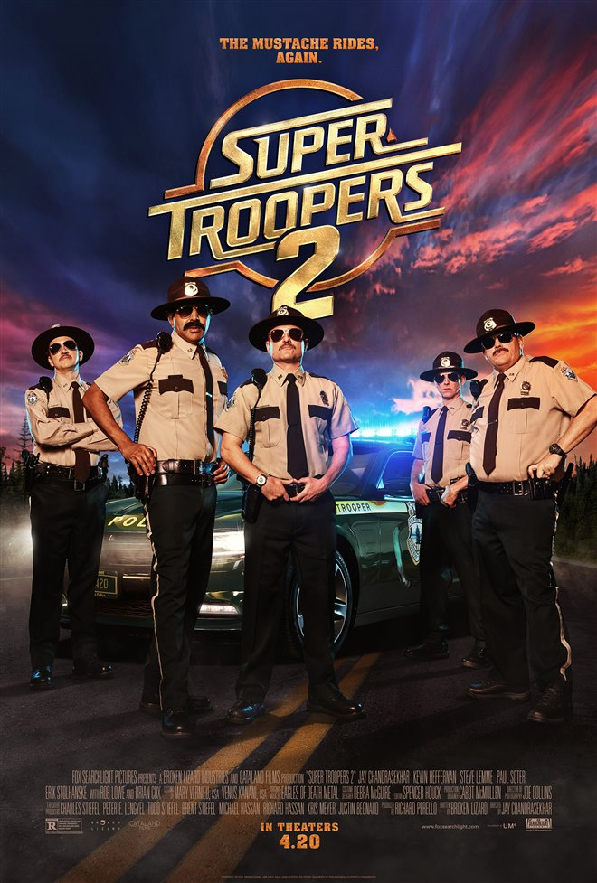 Super Troopers 2 Large Poster