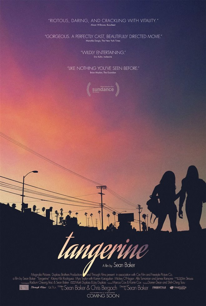 Tangerine Large Poster