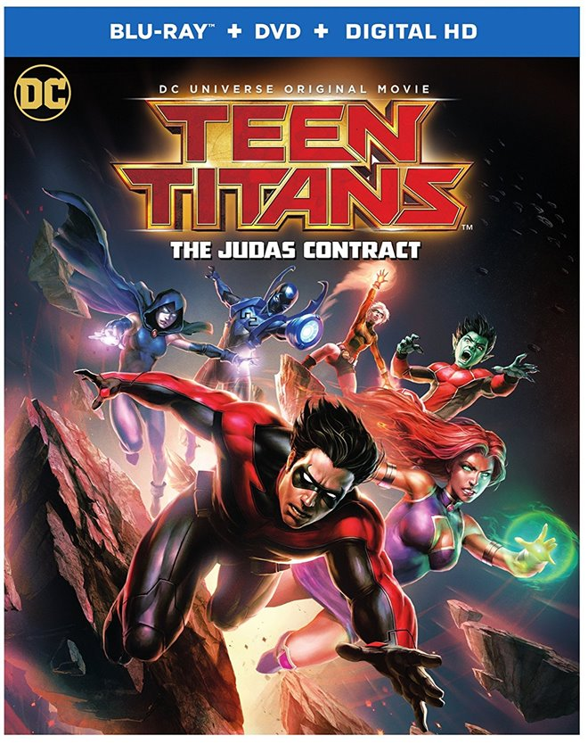 Teen Titans: The Judas Contract Large Poster