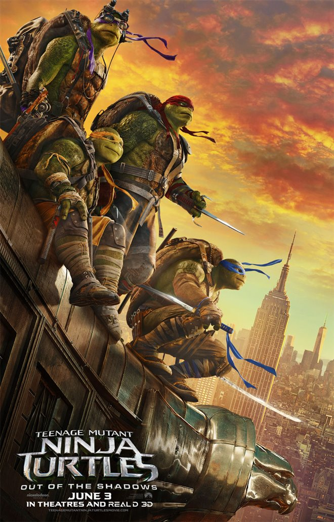 Teenage Mutant Ninja Turtles: Out of the Shadows Large Poster