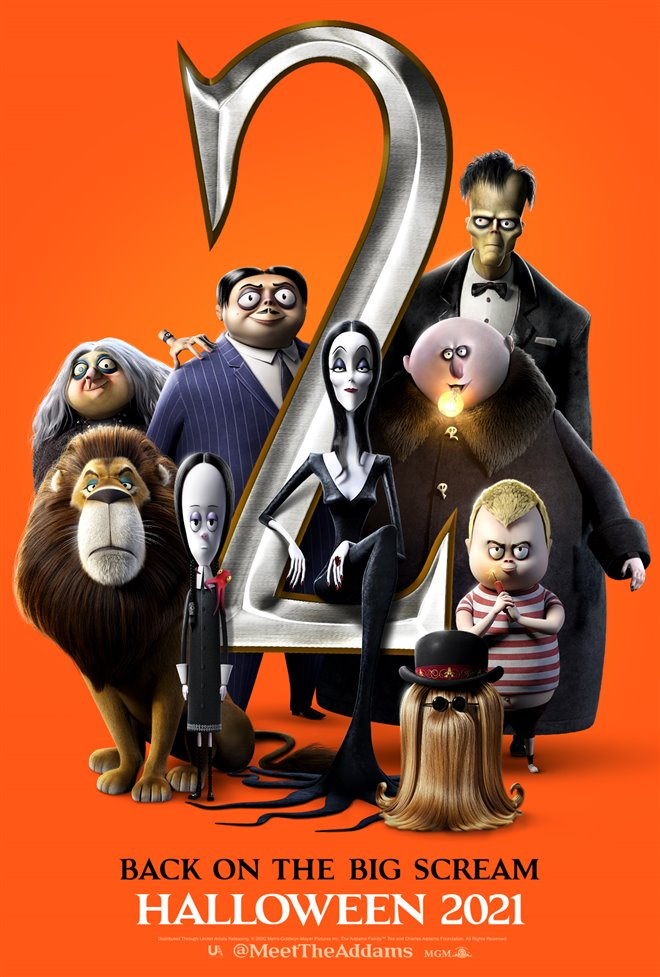 The Addams Family 2 Large Poster
