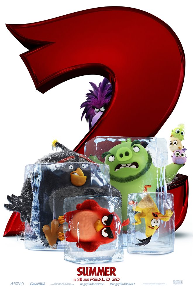 The Angry Birds Movie 2 Large Poster