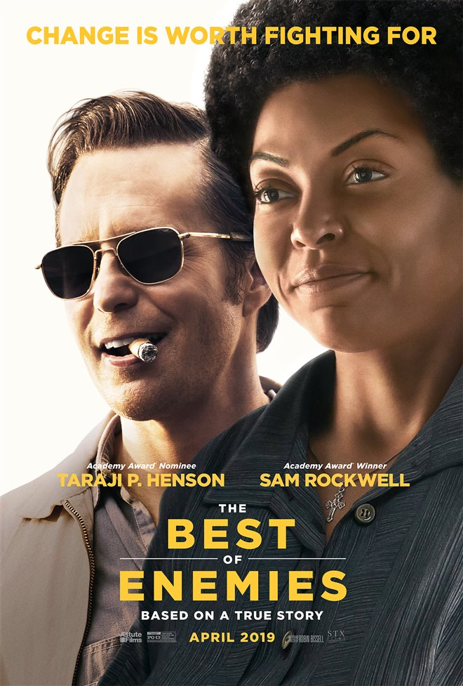 The Best of Enemies Large Poster