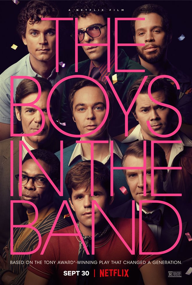 The Boys in the Band (Netflix) Large Poster