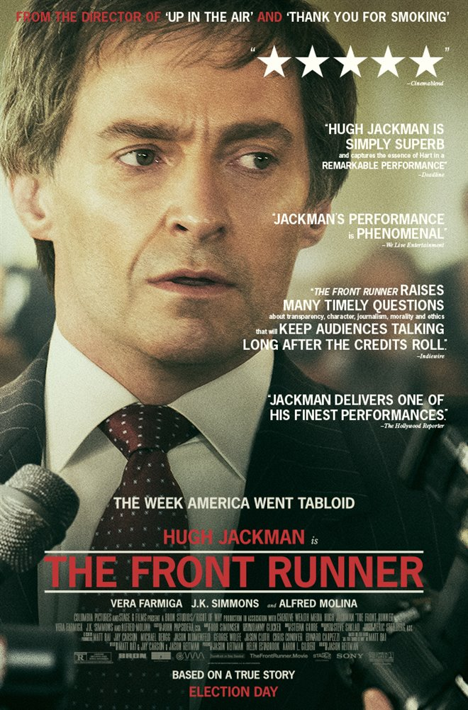 The Front Runner Large Poster