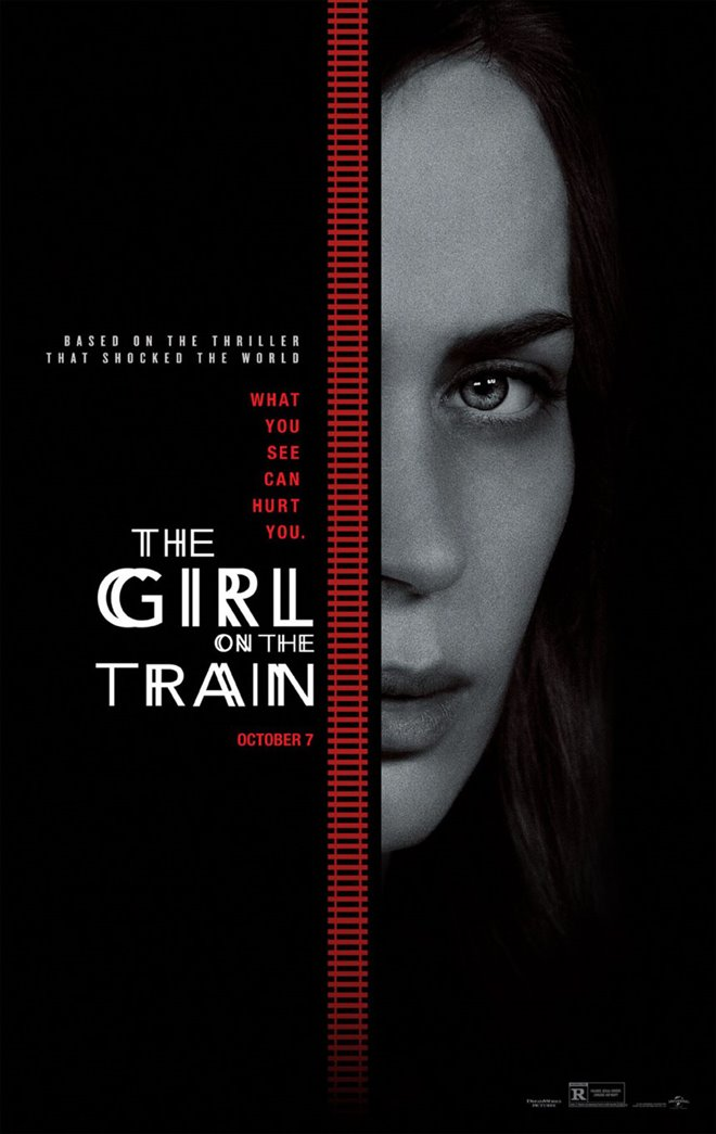 The Girl on the Train Large Poster