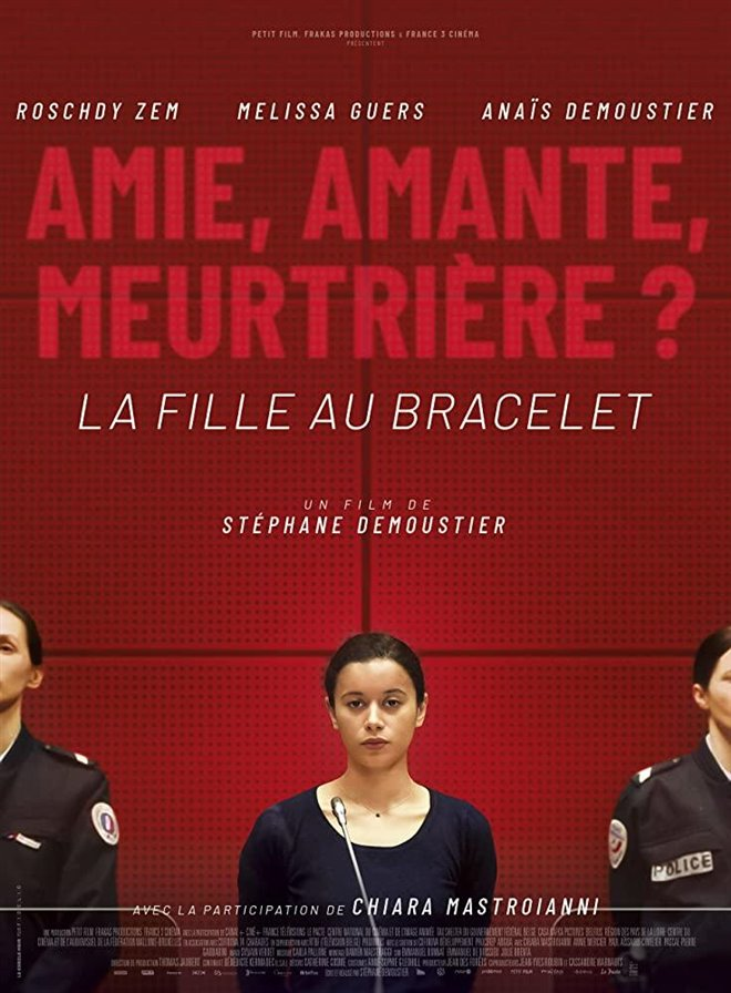 The Girl with a Bracelet Large Poster