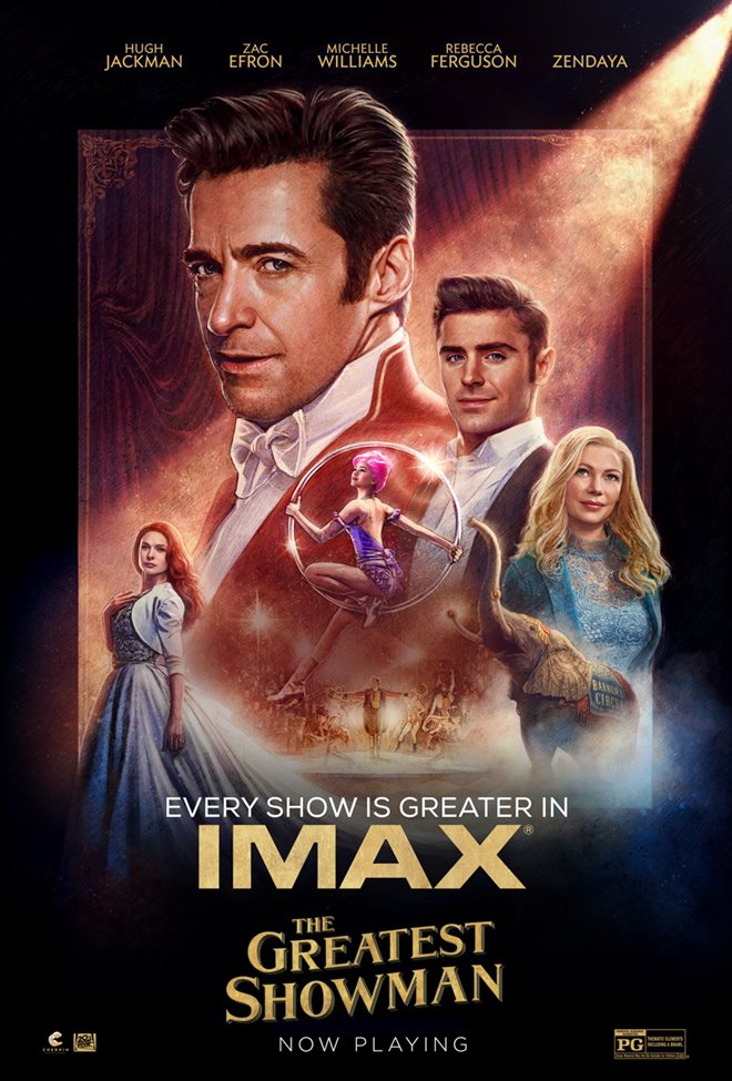 The Greatest Showman: The IMAX Experience Large Poster