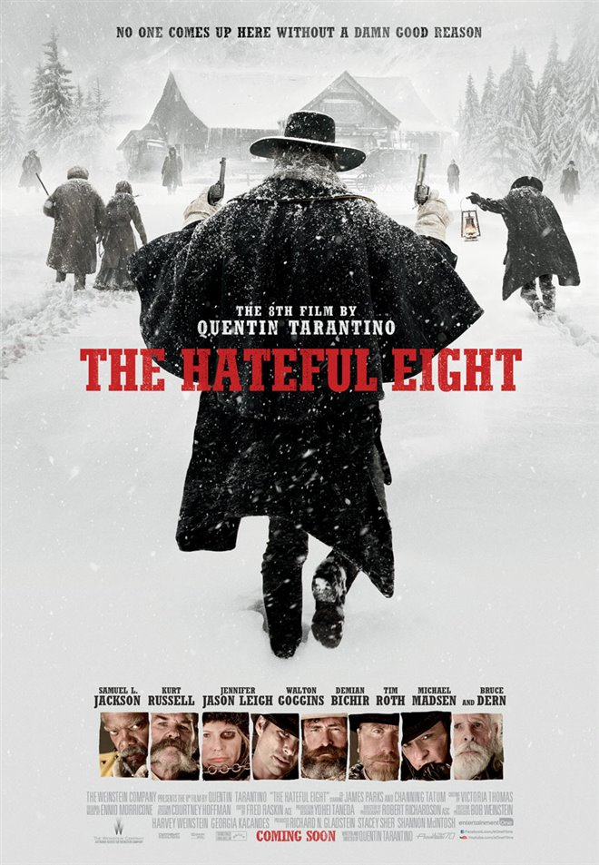 The Hateful Eight Large Poster