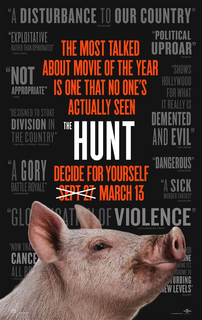 The Hunt Large Poster