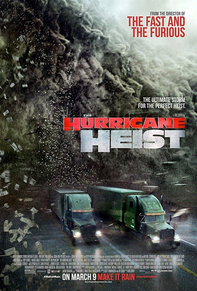 ผลการค้นหารูปภาพสำหรับ Hurricane Heist poster