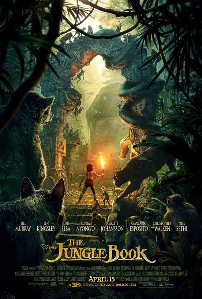 The Jungle Book Large Poster