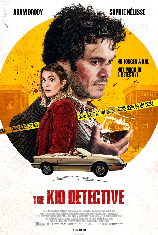 The Kid Detective Large Poster