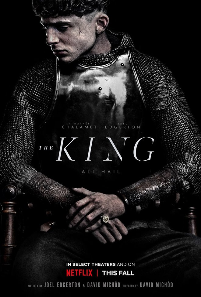 The King Large Poster