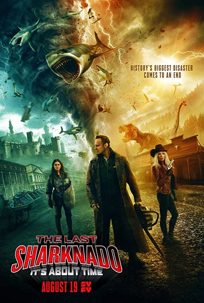 The Last Sharknado: It's About Time Large Poster
