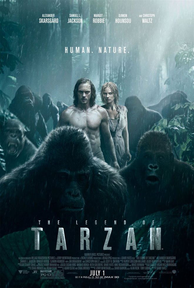 The Legend of Tarzan Large Poster