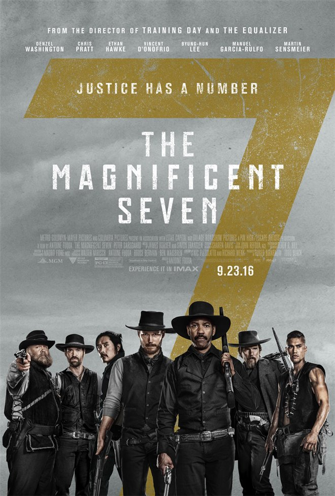 The Magnificent Seven Large Poster