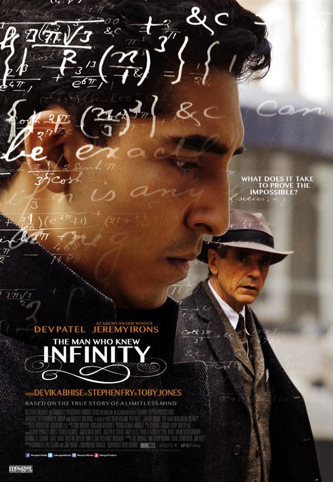 The Man Who Knew Infinity Large Poster