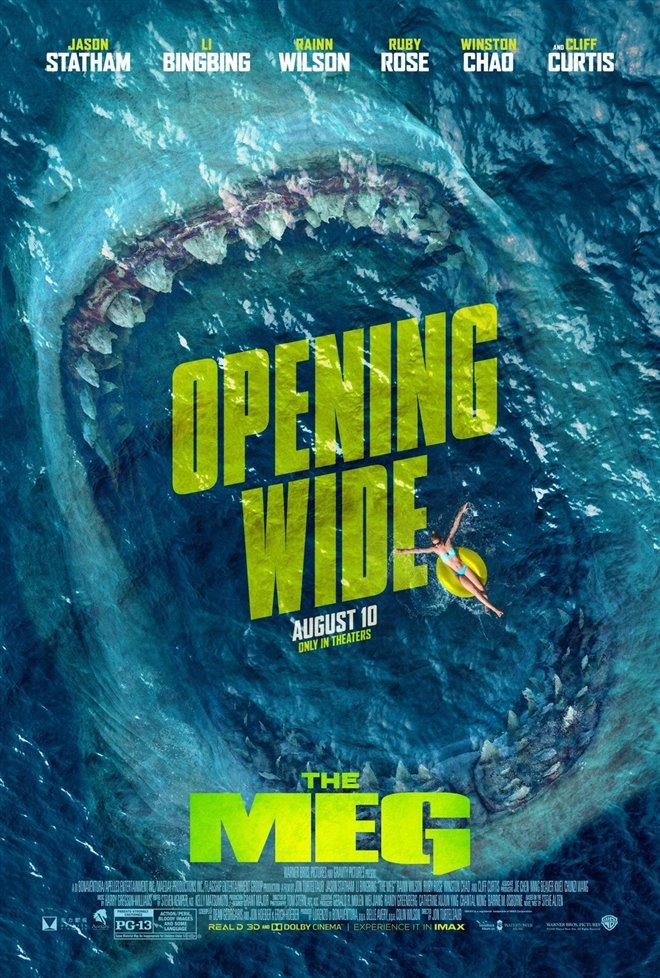 The Meg Large Poster