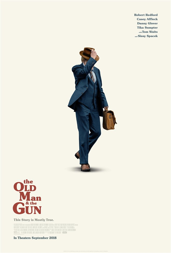 The Old Man & the Gun Large Poster