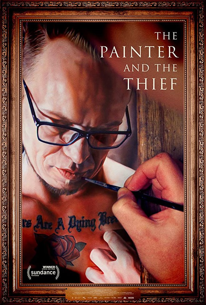 The Painter and the Thief Large Poster